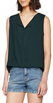 Vila CLOTHES Women's Vilucy S/l Top - Fav Vest,10 (Size: Small)