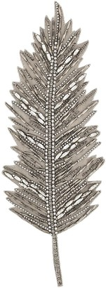 Haider Ackermann Embellished Feather Lapel Pin