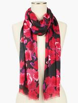 Talbots Roses Scarf