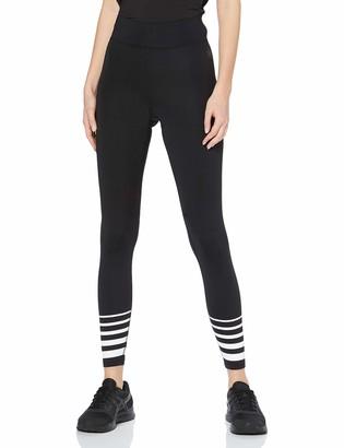 Aurique Amazon Brand Women's Sports Stripped Leggings