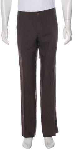 Dolce & Gabbana Linen Dress Pants