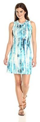 Karen Kane Women's Printed Halter Dress M