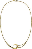 Shaun Leane Sterling silver and gold-plate hook necklace