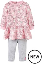 Joules Baby Girls Sylvie Dress And Legging Outfit