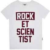 Someday Soon Rocket Scientist Slub Jersey T-Shirt-WHITE