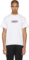 Noah White Gas Station Logo T-shirt