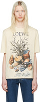 Loewe Beige Shell Still Life T-Shirt