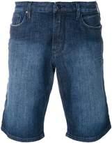 Emporio Armani stonewashed denim shorts