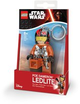 Star Wars Official LEGO Episode VII Poe Dameron Key Light LED Keyring Keychain
