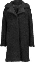 Karl Lagerfeld Denise wool and mohair-blend coat