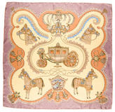 Hermes Paperoles Silk Scarf