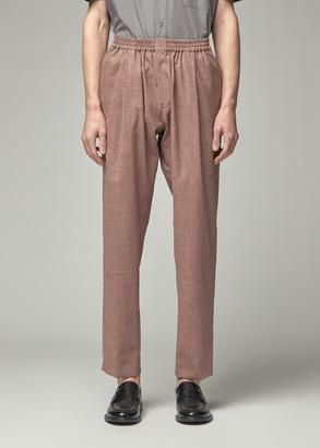 Stephan Schneider Men's Powder Trouser Pants in Rust Size III Wool/Cotton/Linen