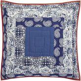 Pier 1 Imports Cordoba Patchwork Euro Pillow Sham