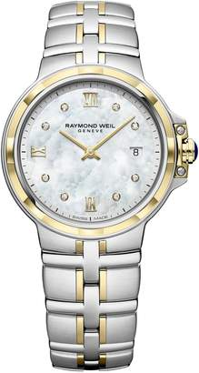 Raymond Weil Parsifal Diamond Stainless Steel Bracelet Watch