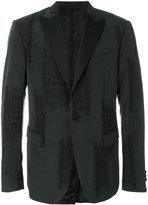 Versace baroque embroidered blazer - men - Cotton/Acrylic/Polyamide/Viscose - 48