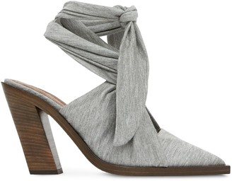 Burberry Ankle Tie Mules