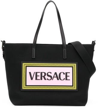 Versace Logo Changing Bag