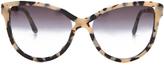 Stella McCartney Rounded Cat Eye Sunglasses