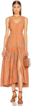 Alexis Garcelle Dress in Amber | FWRD