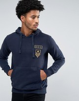 French Connection Sweat Pull Over with Pocket and Space Badge Co-Ord