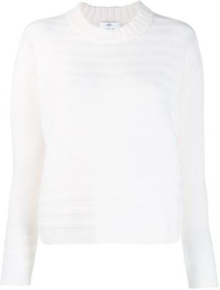 Allude ribbed sweatshirt