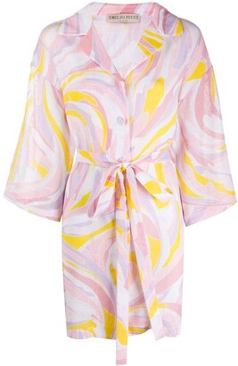Emilio Pucci Abstract-Print Shirt