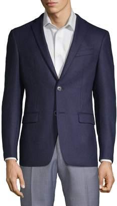 John Varvatos Bedford Slim Wool Sport Coat