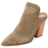 Sigerson Morrison Marry Perforated Leather Mule