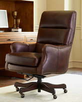"Horchow ""Bryant"" Leather Office Chair"