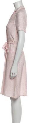 HVN Silk Midi Length Dress w/ Tags
