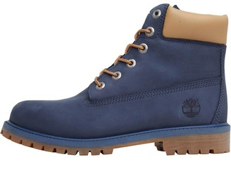Timberland Junior 6 Inch Premium Boots Vintage Indigo