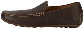 Lucky Brand Weston (Brown Perfed Distressed Full Grain) Men's Shoes
