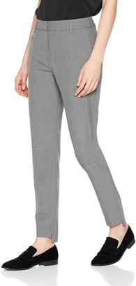 Selected Women's Sfamila Silver Mw Pant Trouser