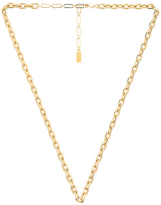 Natalie B Ottilia Hearty Oval Necklace