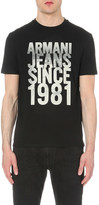 Armani Jeans City logo-print cotton-jersey t-shirt
