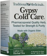 Traditional Medicinals Gypsy Cold Care Herbal Wrapped Tea Bags