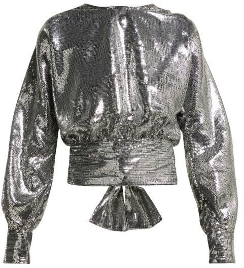 2b500921ea426c Silver Blouse - ShopStyle