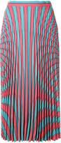 Maison Margiela optical illusion print skirt