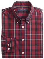 Brooks Brothers Boys' Holiday Plaid Sport Shirt - Big Kid