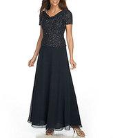 J Kara Chiffon Gown