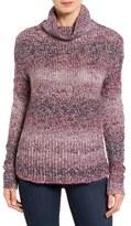 Caslon Relaxed Knit Turtleneck Sweater (Regular & Petite)