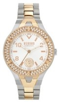 Thumbnail for your product : Versus By Versace Women's Vittoria Silver and Rose Gold Tone Stainless Steel Bracelet Watch 38mm