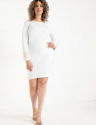 ELOQUII Pearl Cuff Dress