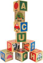 Melissa & Doug Kids' ABC/123 Wooden Blocks