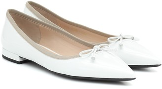 Prada Patent-leather flats