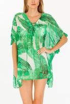 Olivaceous Palm Caftan
