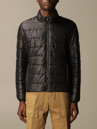 Fay Classic Down Jacket In Nylon With Zip