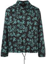 Ami Alexandre Mattiussi plants print hooded jacket - men - Polyamide/Polyester - L