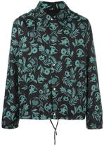 Ami Alexandre Mattiussi plants print hooded jacket - men - Polyamide/Polyester - S
