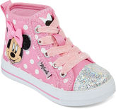 Disney Minnie Mouse Girls Hi-Top Sneakers - Toddler